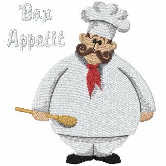 Bon Appetit Koch - fertigen Sie besonders an Bestickte Jacke