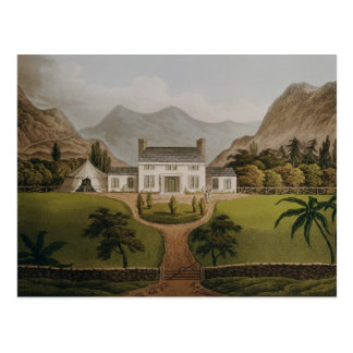 Bonapartes Mal-Maison bei St. Helena, 1821 Postkarte