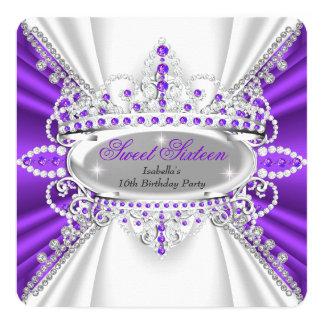 Bonbon 16 Geburtstags-Prinzessin Purple Diamonds
