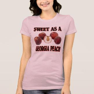 Bonbon als Georgia-Pfirsich (Frauen) T-Shirt