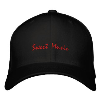 Bonbon Musik-Gitarre-Gestickter Hut Bestickte Kappe