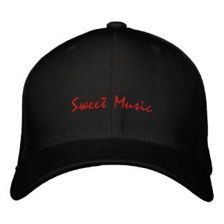 Bonbon Musik-Gitarre-Gestickter Hut Bestickte Caps