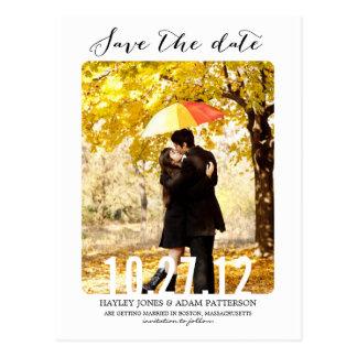 BONBON Save the Date Postkarte