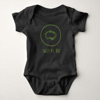 """Bonbon wie, Bro"" Neuseeland Kiwi Baby Strampler"