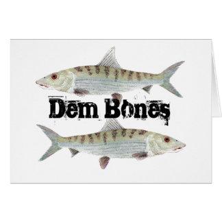 Bonefish-Karte Karte