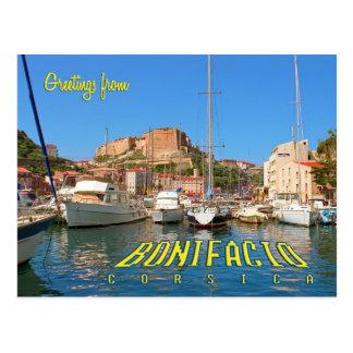 Bonifacio, Korsika, Frankreich Postkarte