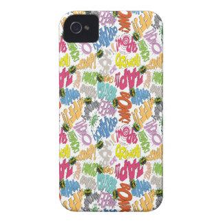 BONK ZAP ABBRUCH Muster Case-Mate iPhone 4 Hülle
