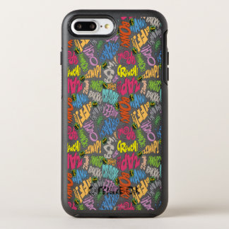 BONK ZAP ABBRUCH Muster OtterBox Symmetry iPhone 7 Plus Hülle