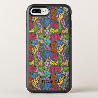 BONK ZAP ABBRUCH Muster OtterBox Symmetry iPhone 8 Plus/7 Plus Hülle