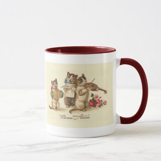 """""""Bonne Annee"""" Vintage französische neues Tasse"""