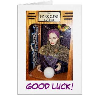 Bonne chance ! Carte de voeux