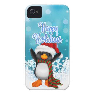 Bonnes fêtes caisse mignonne de Blackberry de Coques Case-Mate iPhone 4