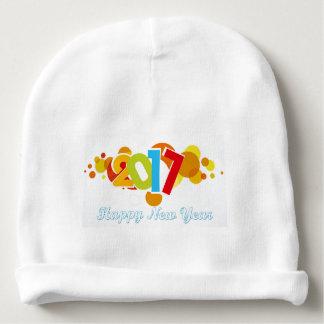 Bonnet Pour Bébé Bonne année 2017 de calotte de coton