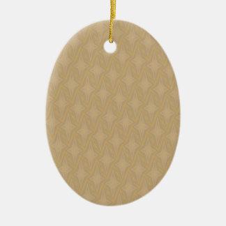 Bonnie-Ernte-Gold vier Punkt-Sterne Keramik Ornament