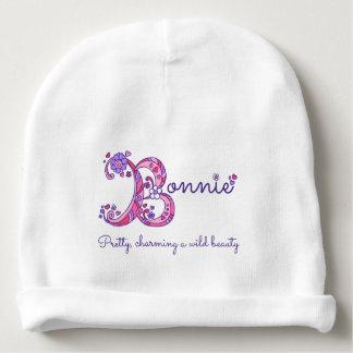 Bonnie-Mädchen Name u. Bedeutungsbabyhut Babymütze