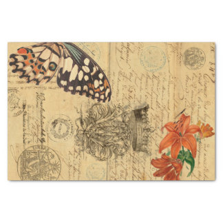 Bono Schmetterling Decoupage Seidenpapier