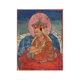 Bonpo Meister, C16th Tibetaner Holzposter