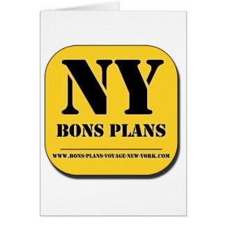 """""""BONS PLANS NEW YORK"""" Appli Karte"""