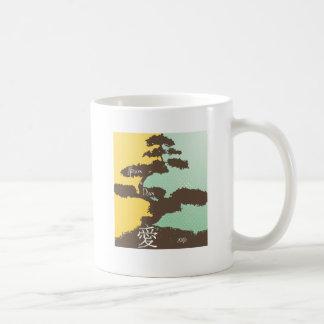 Bonsais-Baum-Hochzeits-Tasse Tasse
