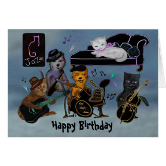 Bonze-Geburtstags-Stau Karte