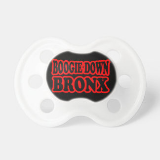 Boogie unten Bronx, NYC Schnuller