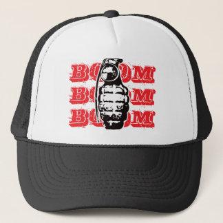 Boom-Boom-Boom - Rot Truckerkappe