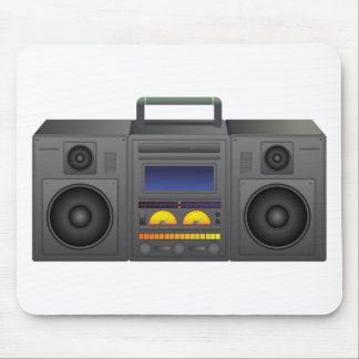 Boombox Cartoon Mousepad