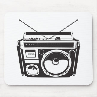 ☞ Boombox Oldschool / Cassette Player Mousepad
