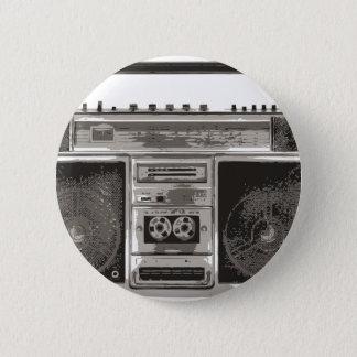 Boombox Runder Button 5,7 Cm
