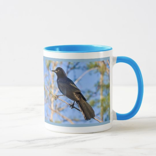 Boot-angebundenes Grackle Tasse