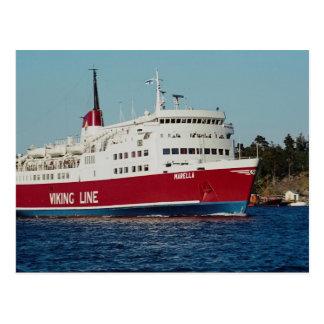 Boot nach Finnland, Stockholm, Archipel, Schweden Postkarte