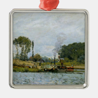 Boote Alfred Sisleys | am Verschluss bei Bougival Silbernes Ornament