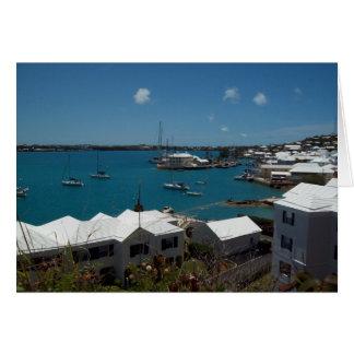 Boote bei Bermuda Karte