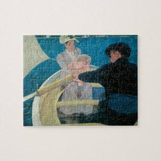 Bootfahrt-Party durch Mary Cassatt, Vintage feine