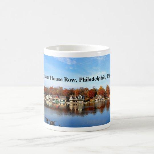 Boots-Haus-Reihe, Philadelphia, PA Kaffeetasse