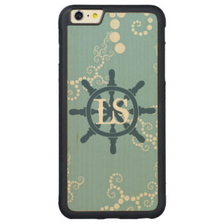 Boots-Rad Carved® Maple iPhone 6 Plus Bumper Hülle