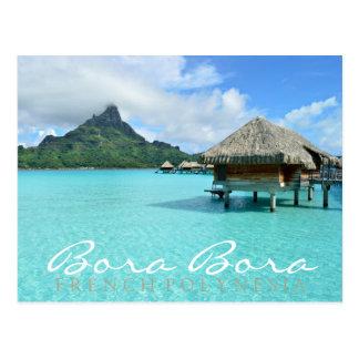 Bora Bora overwater Postkarten