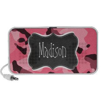 Bord Camo rose ; Camouflage ; Rétro tableau Haut-parleur iPod