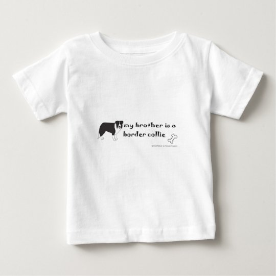 Border-Collie Baby T-shirt