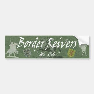 Border Reivers Autoaufkleber