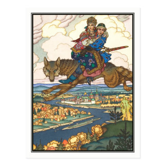 Boris Zvorykin - das Firebird Postkarte