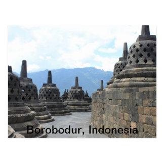 Borobodur Budhist Tempel, Indonesien Postkarte