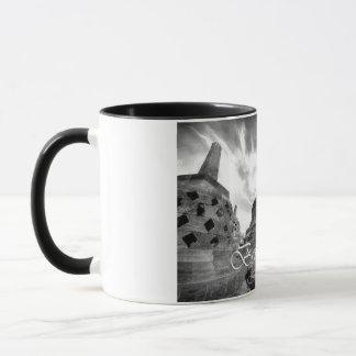 Boroboedoer Tample Reihe von Tasse