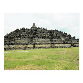 Borobudur des 9. Jahrhunderts, buddhistisches Postkarte