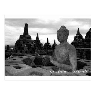Borobudur Postkarte