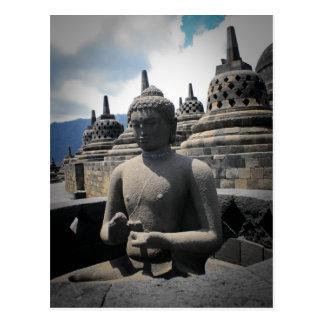 borobudur Tempel Postkarte