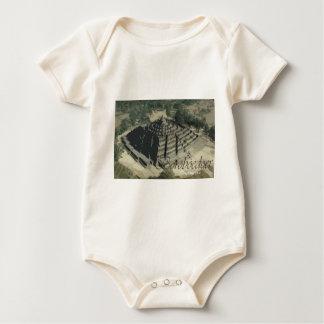 Borobudur Tempel Screnary Baby Strampler