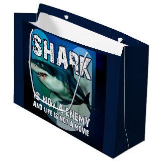 Börse Geschenk GR Shark Große Geschenktüte