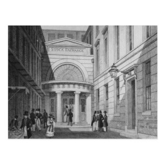 Börse, London, 'vom Großstadtbewohner Postkarte