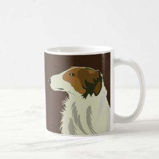 BORZOI-Hund Teehaferl
